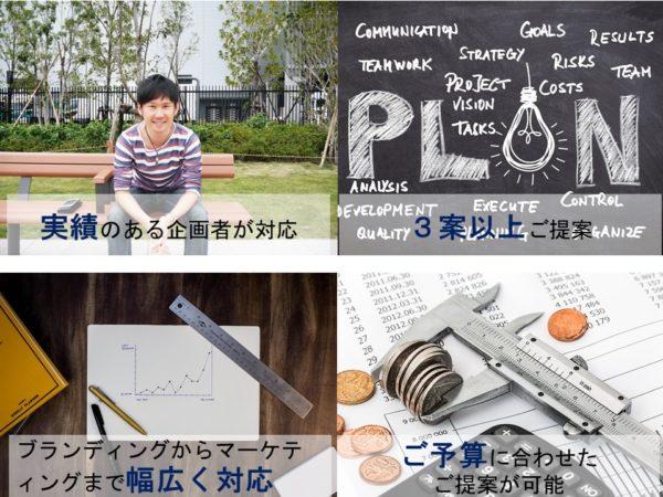 サービス開発の企画サポート(特長)