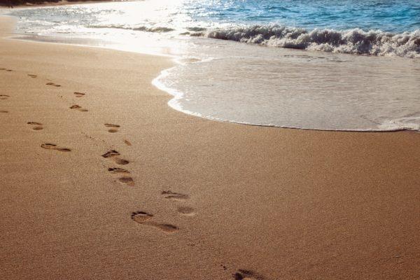 ハワイの砂浜 (2)