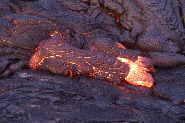 ハワイの溶岩