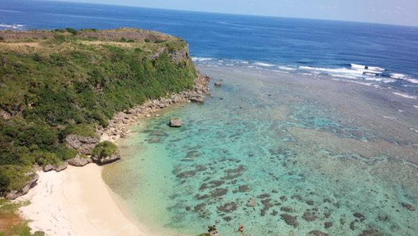 沖縄の海の透明度