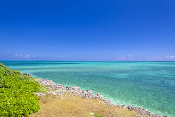 晴れた日の沖縄