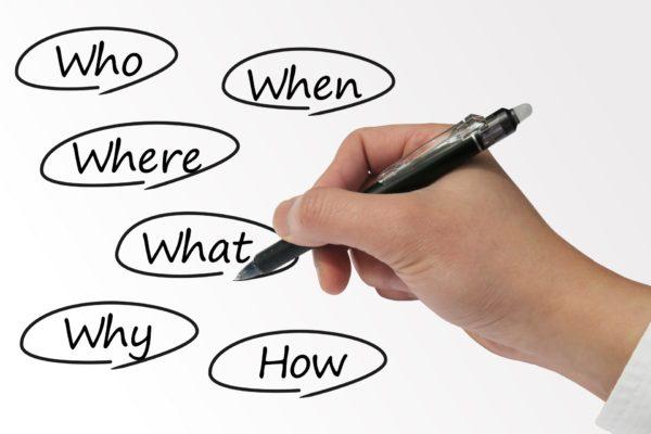 目的や目標を具体的にすること