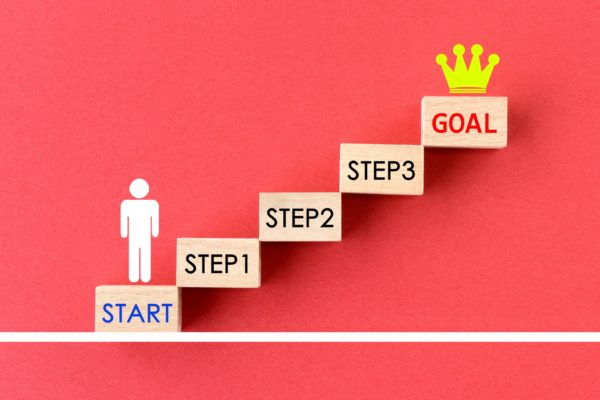 小さなステップ目標作り