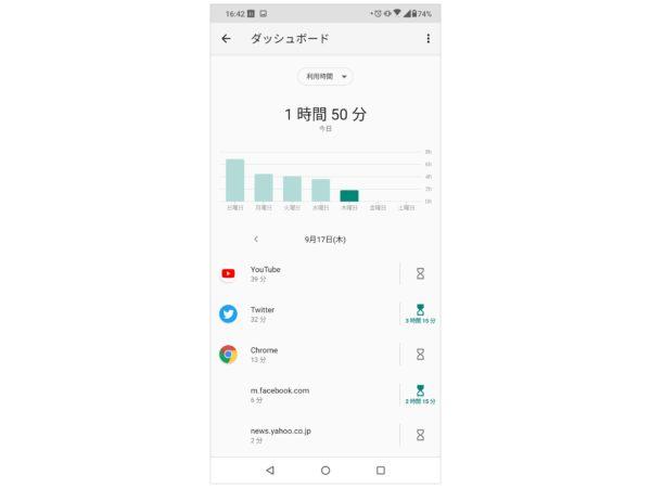 スマホの使用時間制限アプリ